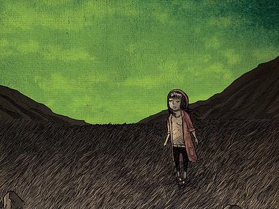 Quiet little melody girl greem comics graphic novel