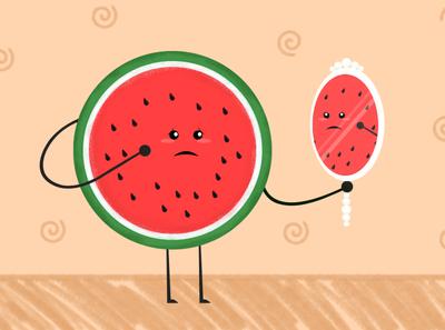 watermelon story - illustration