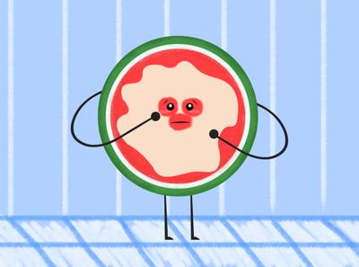watermelon story 2 - illustration