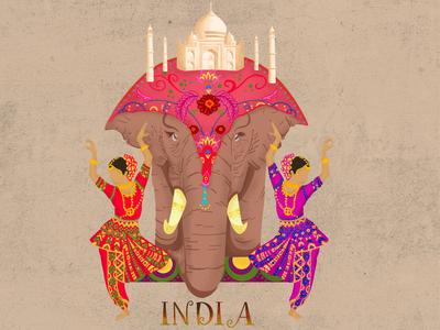 INDIA - Illustration
