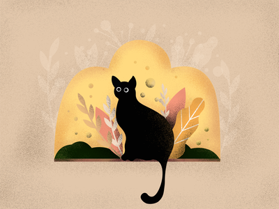 Cat - Iillustration