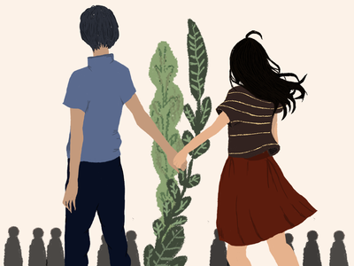 couple - illustration