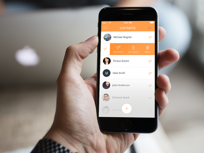 iOS App to meet your friends
