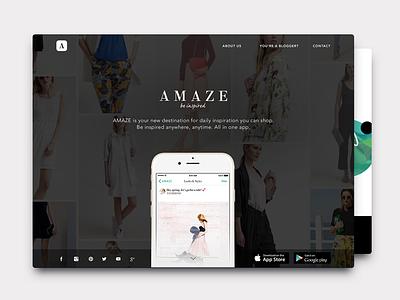 Amaze Fashion Inspiration & Shopping inspire amaze social zalando ios clothes mobile app fashion inspiration shopping