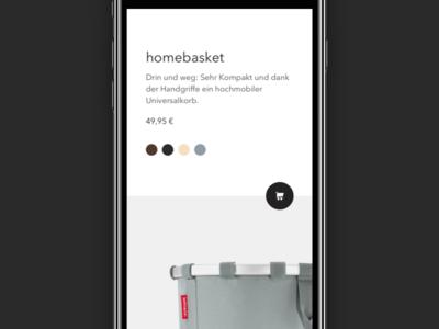 E-commerce 👜 Landingpage