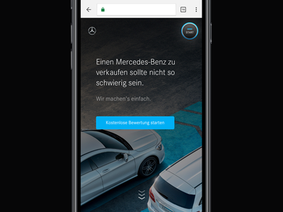 Mercedes-Benz Car Rating 2 mercedes-benz mercedes mobile landing page web experience car service car rating rating cars