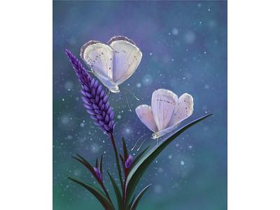 Ночные мотыльки бабочки цветок растровая графика мотыльки ночь лето дизайн иллюстрация