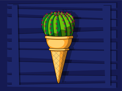 "Мороженое ""Кактус"""