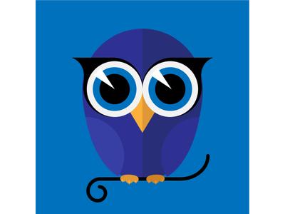 Синяя сова