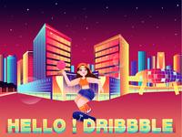hello!dribbble