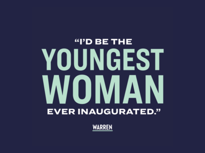 """""""Youngest Woman Inaugurated"""""""