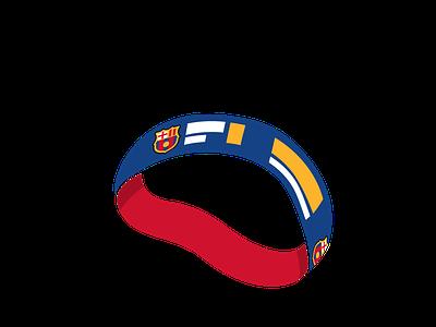 bracelet icon - barça barça bracelet icon illustration icon set xave illustration
