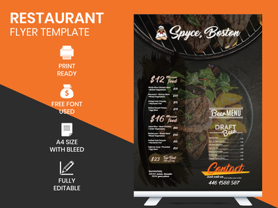 RESTAURANT FLYER TEMPLATE flyer designer flyer restaurant branding flyer design ideas redesign flyer design template flyer design corporate rollup design corporate rollup design corporate logo design corporate identity design corporate identity corporate branding