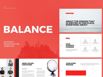 Balance PowerPoint Template ecommerce agency corporate powerpoint responsive powerpoint design ppt template presentation template presentation business company creative