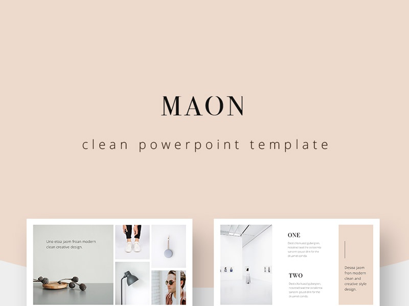Maon Powerpoint Template Powerpoint Template By Elegant