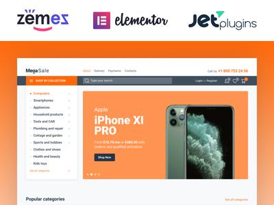 MegaSale - Innovative ECommerce Super Market WooCommerce Theme