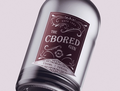 Bottle Design Gin