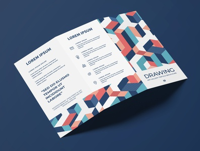 Brochure Design Drawing minimal graphic  design typography modern designer design creativity creative drawing flyer design flyer brochure design brochure