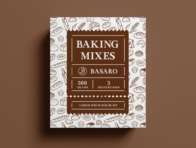 Package Design Baking Mixes