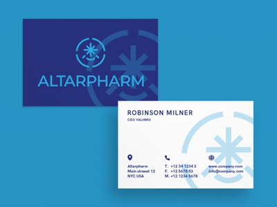 Business Card Altarpharm
