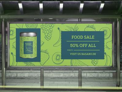 Banner Design Food Sale