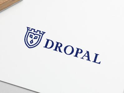 Logo Design Dropal minimal typography modern designer design creativity creative logoinspiration logodesigner logodesign logo design logotype logos logo