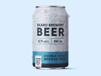 Beer Can Design Ekaro can design typography modern designer design creativity creative label design beer label brewery can label beer can beer
