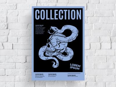 Poster Design Collection illustration graphic artist black typography modern designer graphic  design design creativity creative poster design poster