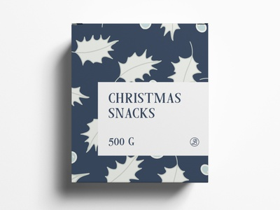 Package Design Christmas Snacks typography modern designer design creativity creative label label design labeldesign package design package packaging packaging design christmas