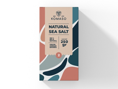 Package Design Natural Sea Salt minimal typography modern designer design creativity creative label label design labeldesign packaging design package design packaging package