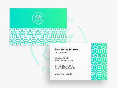 Business Card Martos graphic artist graphic  design typography modern designer design creativity creative business card design business cards business card businesscard business