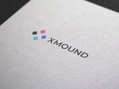 Logo Design Xmound graphic  design typography modern designer brand design creativity creative logodesign logotype logos logo design logo