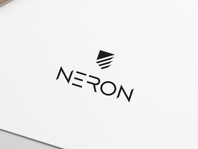 Logo Design Neron logo type minimal logo designer logos modern designer design creativity creative typography graphic design branding logo design logo