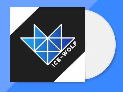 Band Logo Ice Wolf