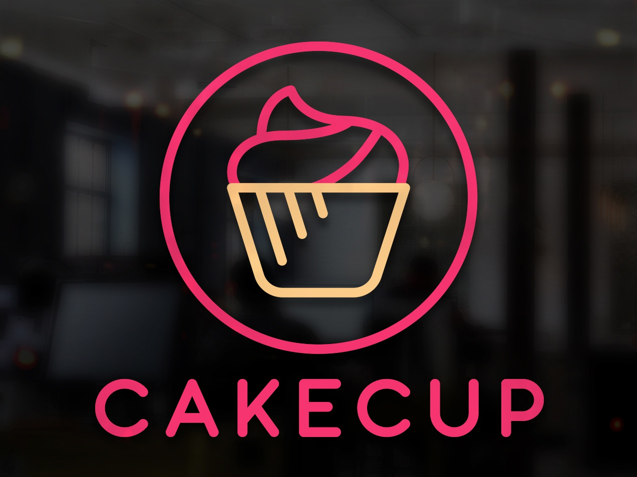 Logo Cupcake By Fabian Krotzer On Dribbble
