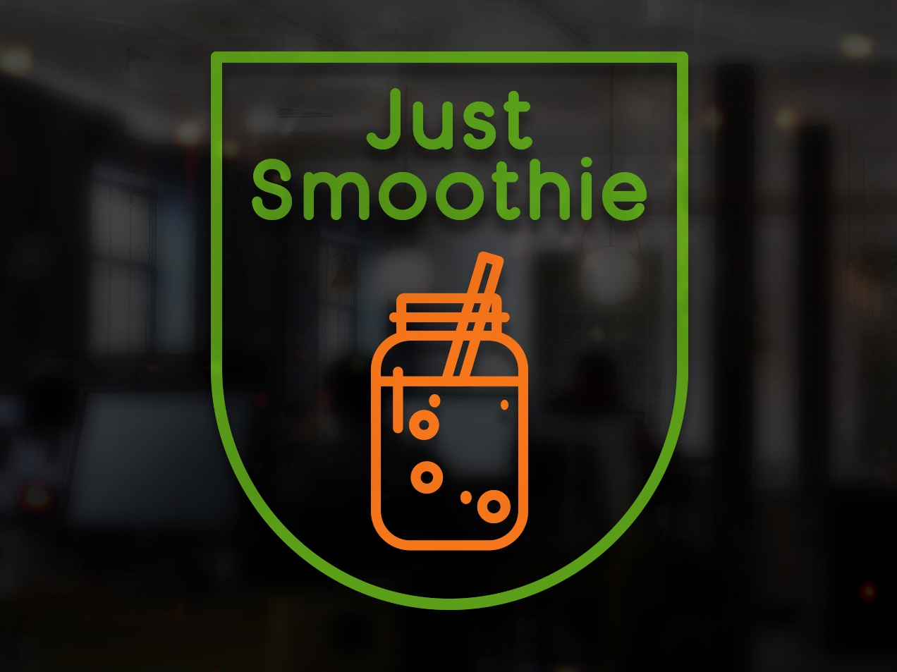 Logo Just Smoothie By Fabian Krotzer On Dribbble