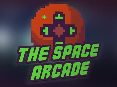 Logo Video Game Arcade