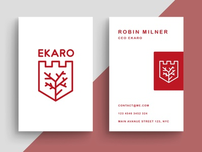 Logo Business Card Winegrower