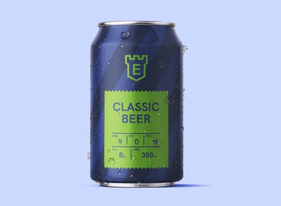 Classic Beer Can