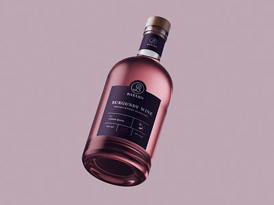 Wine Bottle graphic  design typography modern designer design creativity creative wine bottle wine label winery bottle design bottle label bottle wine