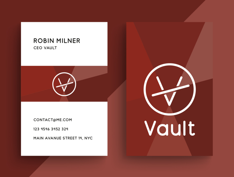 Business Card Fashion Brand By Fabian Krotzer On Dribbble