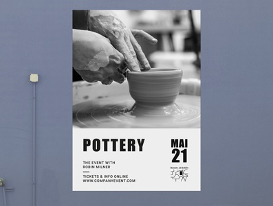 Pottery Event Poster