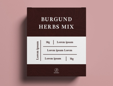 Packaging Herbs Mix