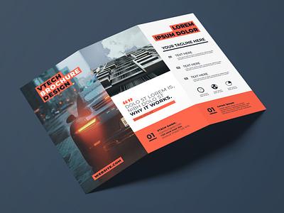 Flyer Vtech graphic artist graphic  design modern typography designer design creativity creative flyer design flyer brochure design brochure trifold brochure