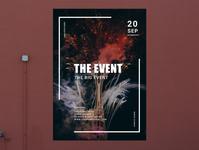 Poster Firework Event