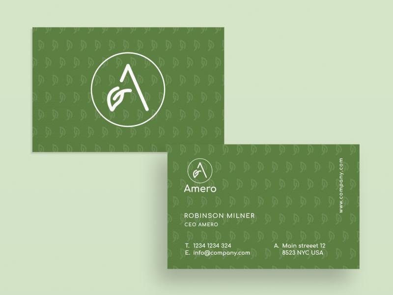 Business Card Amero By Fabian Krotzer On Dribbble