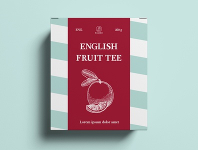 Package Design Tea Shop