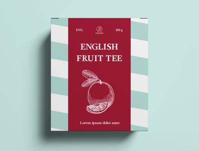 Package Design Tea Shop