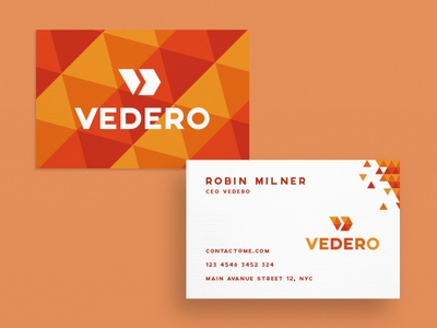 Business Card Vedero