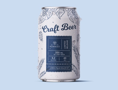 Beer Can Design Komaso
